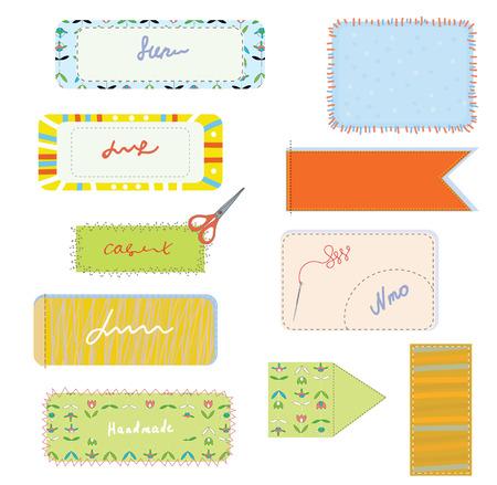 stitchery: Sewing and needlwork set for handmade illustration