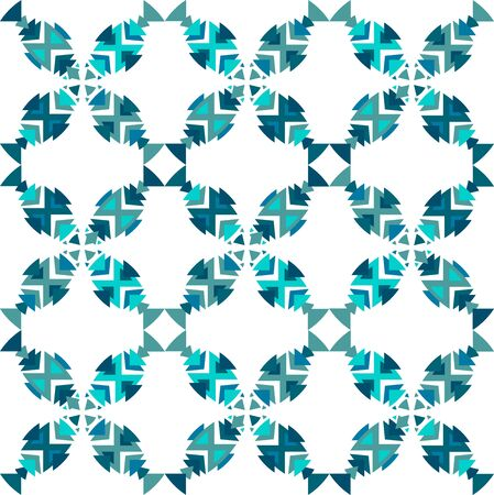 fish pattern: Fish pattern seamless. in vector.