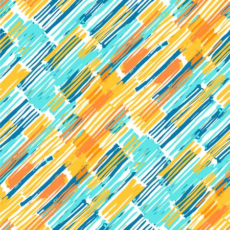 diagonal stripes: Brush strokes colorful diagonal stripes