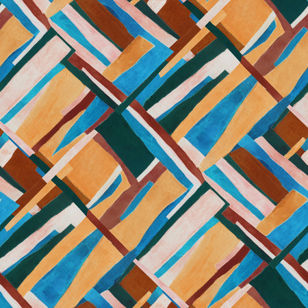 Abstract contemporary art seamless pattern.