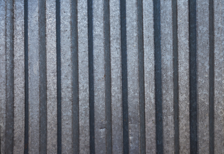 steel: Corrugated zinc iron background metal texture surface sheet