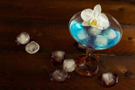 blue hawaiian drink: Cocktail Blue Martini top view. Blue cocktail. Blue Martini. Blue margarita. Blue Hawaiian cocktail. Blue Lagoon. Blue curacao liqueur