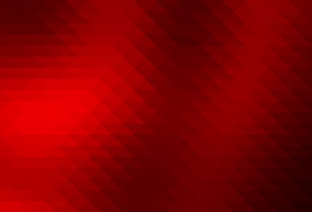 Deep burgundy red abstract geometric background with rows of triangles