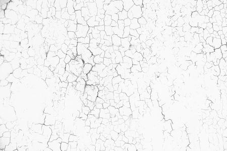 Tanné de fond de peinture fissurée. Modèle de texture grunge noir et blanc pour les illustrations de superposition.