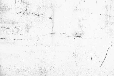 Rusted old metal background with scratches. Grunge black and white texture template for overlay artwork.