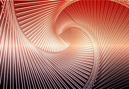 Red orange purple glowing spiral abstract background