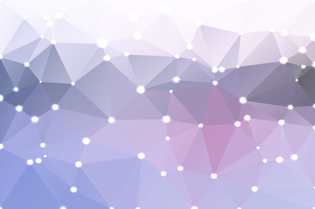 pale colors: Pale pink grey blue abstract low poly geometric background with defocused lights