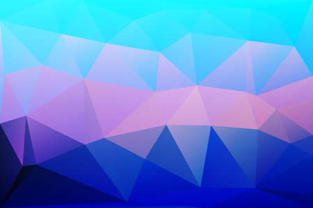 diamond texture: Blue shades pink abstract low poly geometric background