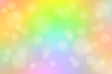 smooth background: Light rainbow abstract blurred gradient mesh with bokeh light background