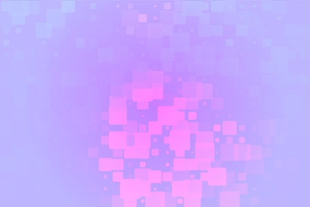 Pink purple lilac vector abstract glowing background with random sizes rounded corners tiles