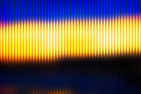 Blue yellow orange black abstract blurred gradient mesh with light lines vector background Illustration