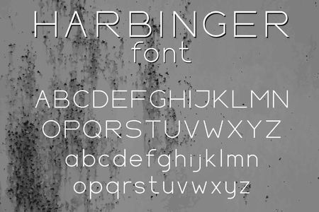 Uppercase and lowercase letters design