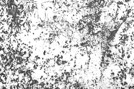 Scratch cracked paint contrast black and white background. Grunge texture template for overlay artwork. Stok Fotoğraf