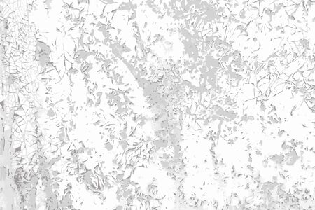 Grunge cracked paint vector black and white texture background. Ttemplate for overlay artwork.