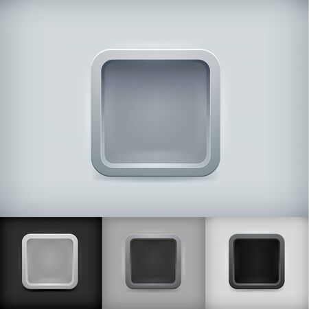 Phone and tablet icon template kit Illustration