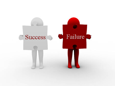 risky innovation: 3d peoples with success or failure