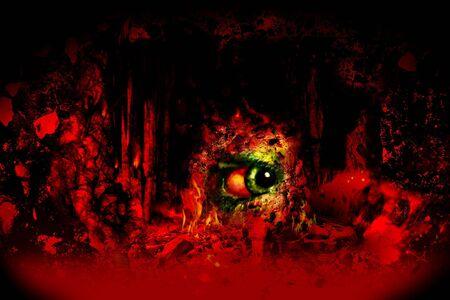Cómo se ve como el infierno!  Foto de archivo - 331040