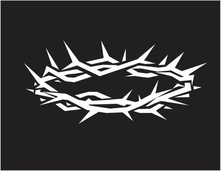 messiah: Corona di spine  Vettoriali