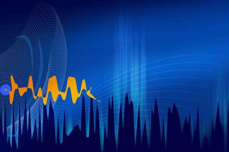 Sound wave Stock Photo - 528333