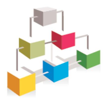 hub: site-carte ic�ne de projets web et bien d'autres encore.  Illustration