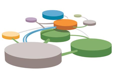 verbinding pictogram voor verschillende projecten