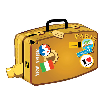 Reizen koffer voor lange afstanden! Travelers don't miss it!