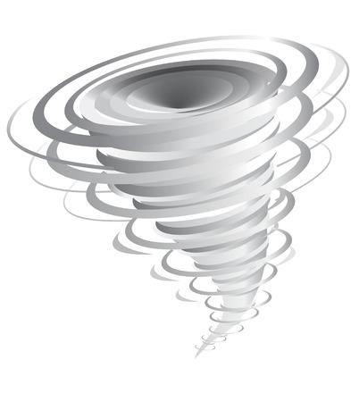 tornado vector illustration Vector