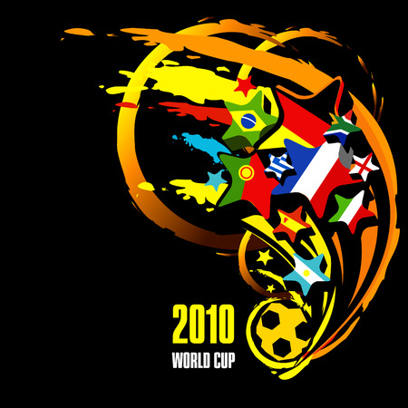 2010 world cup illustration