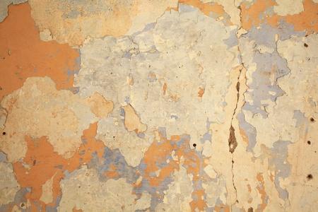 threadbare: old texture from a ruined threadbare wall Stock Photo