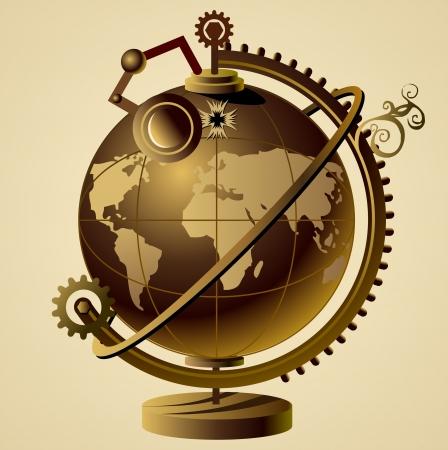 steampunk wereld