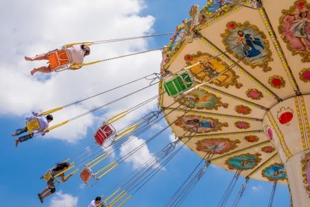 swing seat: altalena sedile emozionante giro di divertimento