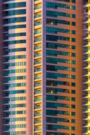 multi storey: abstract shot of multi storey of building Stock Photo
