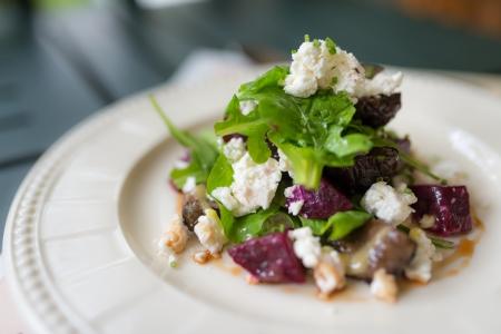 Feta greek cheese vegetable salad
