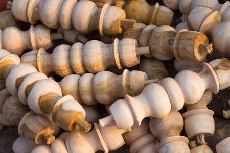 조각 목재 폐기물 배경 텍스처 스톡 콘텐츠
