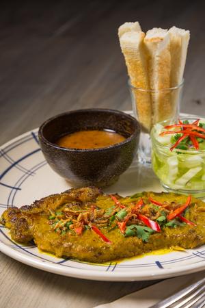 satay sauce: satay steak spicy sauce
