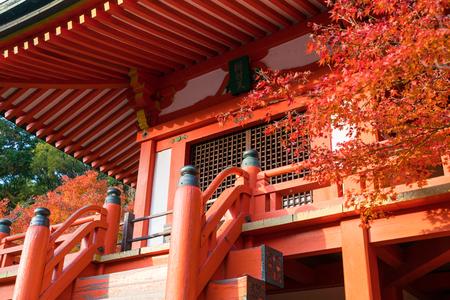 detail of Bentendo Hall in Daigo Ji temple Redakční