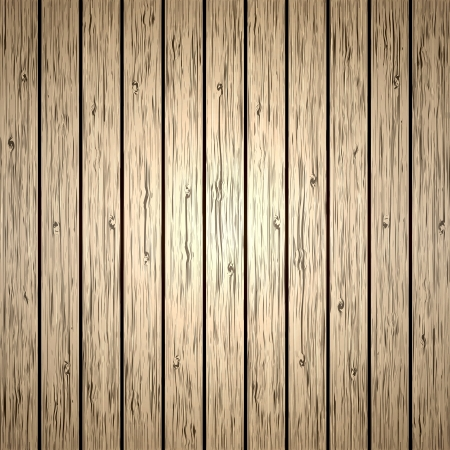Old brown wood plank background  illustration Stock Vector - 14582858