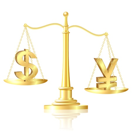 outweighs: Yen outweighs Dollar on scales