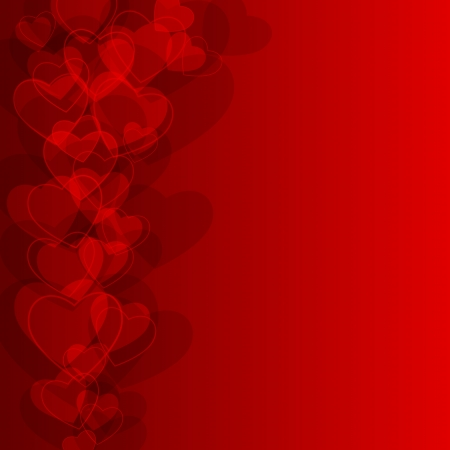 valentine background: Abstract background to the Valentine s day Illustration