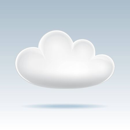 Cloud icon  Vector illustration Stock Vector - 17640378
