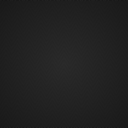 Black background of carbon fibre texture  Vector illustration Vector
