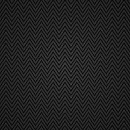 Fondo negro de ilustración vectorial textura de fibra de carbono