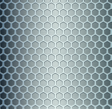Cell metal background  Vector illustration Stock Vector - 18713773