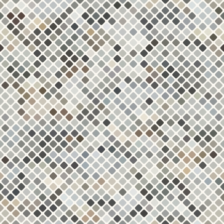Light-brown mosaic background illustration Vector