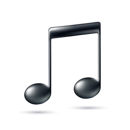 melodies: Music Note Sign  Music icon  Vector illustration