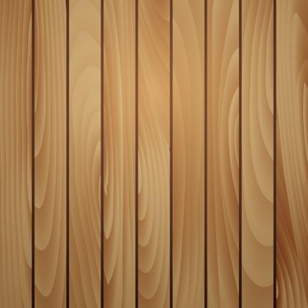 superficie: Tablón de madera de textura de fondo marrón. Ilustración vectorial