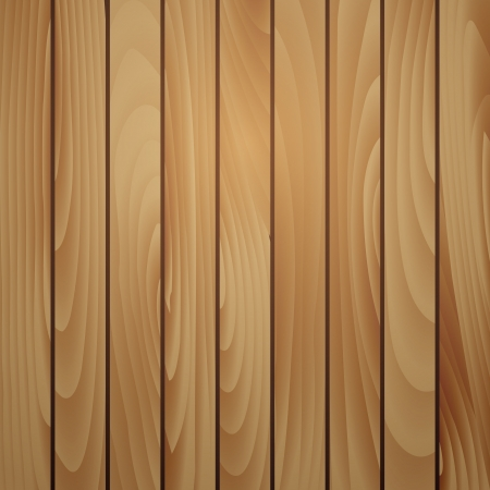 Wood plank brown texture background. Vector illustration Vector