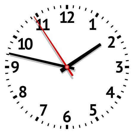 Uhr. Abbildung