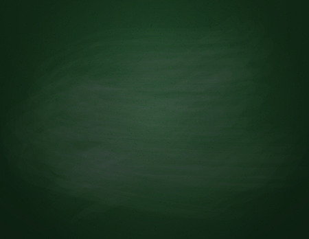 Green chalkboard background. Empty on a green school board. Vector illustration.