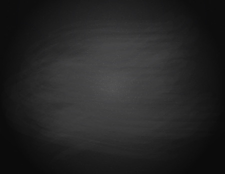 Black chalkboard background. Empty on a Black school board. Vector illustration.